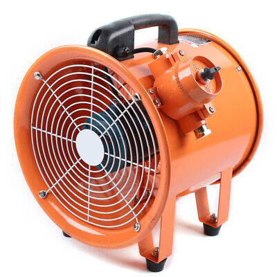 12 Atex Explosion Proof Rated Ventilator Axial Fan Extractor 3720mh 110v Hot