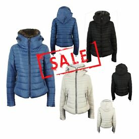 FREE DELIVERY AMAVISSE UK - NEW Women Clothes Winter Fashion Puffy Light Jacket with Hidden Hood
