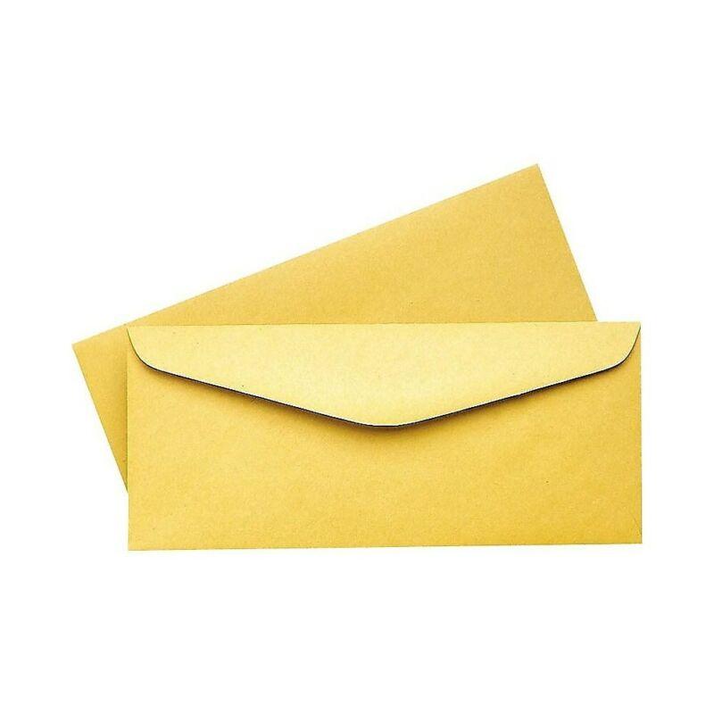 Staples Gummed #12 Brown Kraft Envelopes 500/Box (485461/14211)