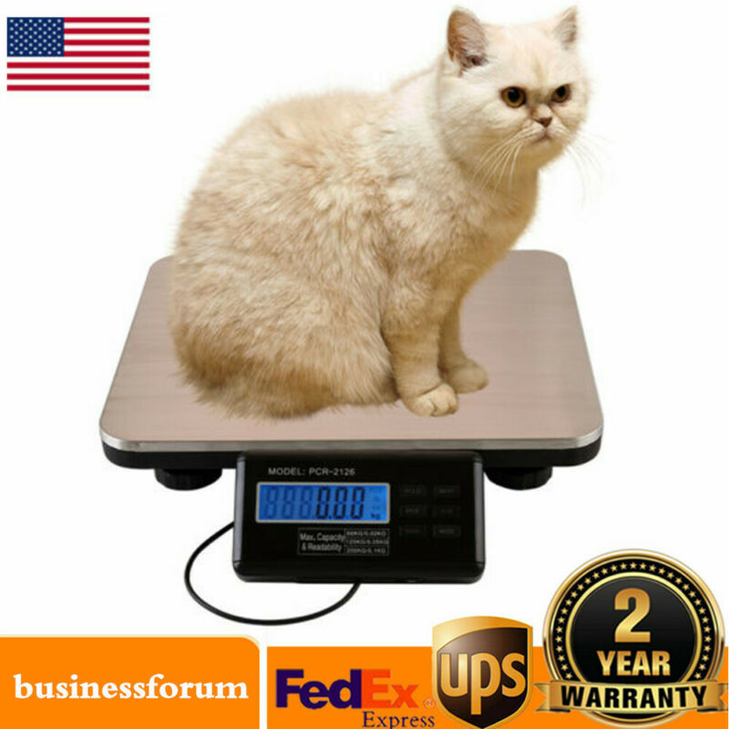 Heavy Duty 300kg 660lb Industrial Platform Postal Scale Weight Electronic Scale