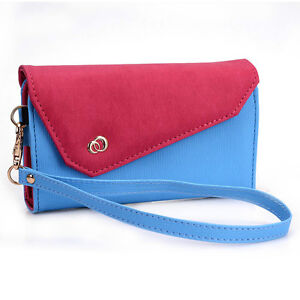 NEW! Designer Summer Smart-Phone Wristlet Clutch EPI Leather Wallet Case Cover