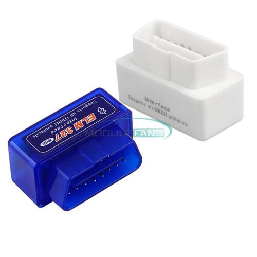 ELM327 V2.1 Mini OBD2 II Bluetooth Diagnostic Car Auto Interface Scanner