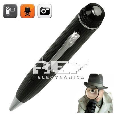 Bolígrafo Espía Cámara Oculta 720 HD 1080 AVI con MicroSD Entrega 48/72h...