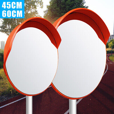Traffic Convex Mirror Safety Wide Angle Driveway Road Outdoor Security Bracket