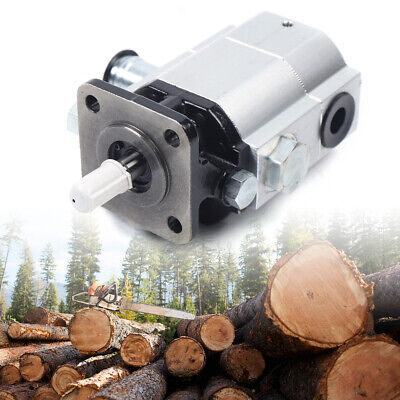 Hydraulic Two 2 Stage Gear Pump 16 Gpm Log Splitter Hi Lo Low Log Splitter Usa