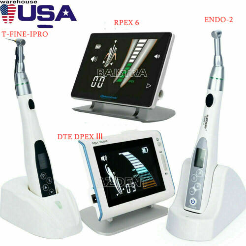 Dental LED/Wireless Endo Motor Treatment 16:1 Reduction Handpiece/ Apex Locator