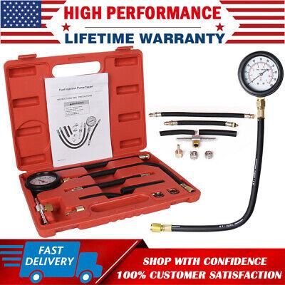 High Quality Fuel Injection Gauge Pressure Tester Test Car System Pump Tool Kit