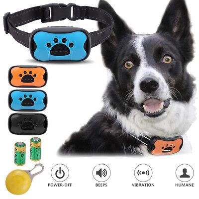 Electric Anti Bark No Barking Pet Dog Collar Sound Vibration Shock Training