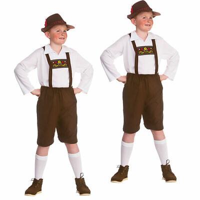 Jungen Bayerische Deutsche Lederhosen Kinder Kostüm Alter - Jungen Lederhosen Kostüm