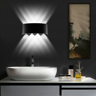 Up Down Wall Sconce 8W Led Wall Lamp Modern Decorative Lights for Home Theater ()