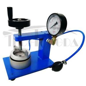 Manual Textile Fabric Hydrostatic Pressure Tester Waterproof Testing Machine#300238