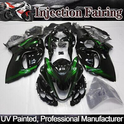Black Green Fairings Kit For SUZUKI Hayabusa GSX1300R 2008-2018 14 ABS Body Work