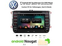 VW / Seat / Skoda Volkswagen HD Android Bluetooth GPS SatNav Car WiFi DVD Player USB SD Stereo