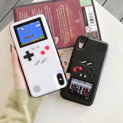 Game-boy Phone Case 36Retro Video Game Display Phone Cover For IPhone Max/XS/X/8
