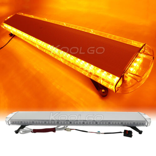 51 96 led light bar emergency beacon warn tow truck plow. Black Bedroom Furniture Sets. Home Design Ideas