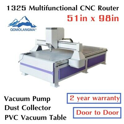 Usb 3kw Ad Woodworking Cnc Router Engraver Machine Vaccum Tablevacuum Pump