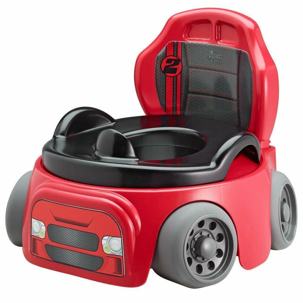 ~Potty Training Chair Kids Toddler Toilet Seat Car Racer Bab