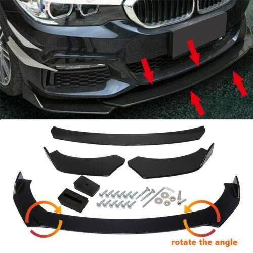 Universal Front Bumper Lip Body Kit Spoiler For Honda Civic BMW Benz Mazda GMC