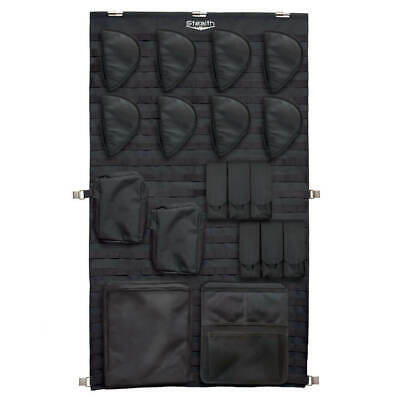 Stealth Molle Gun Safe Door Organizer Pistol Kit Customizable Storage Large