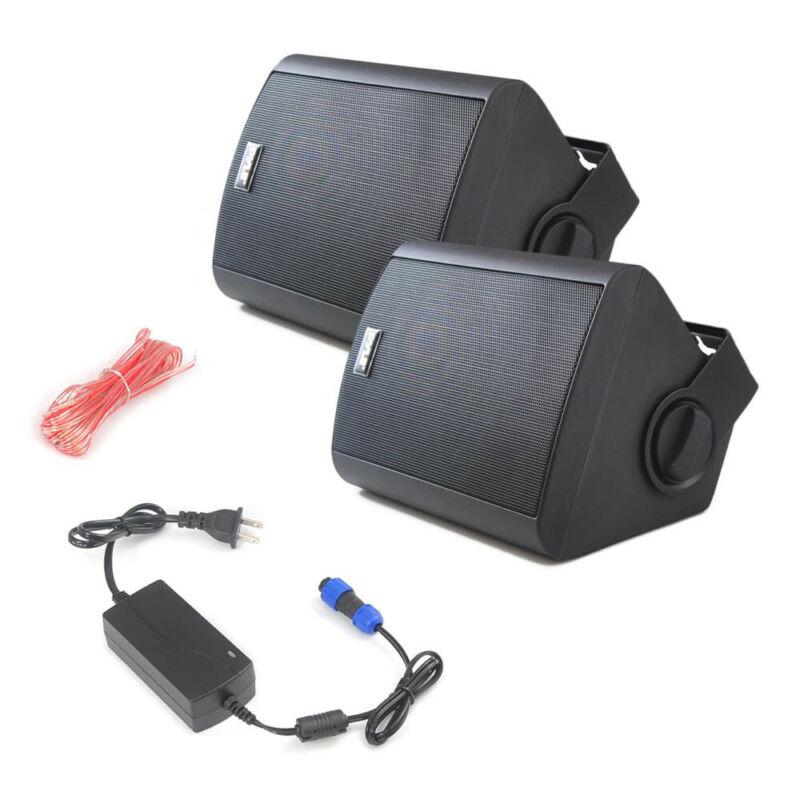 "Pyle PDWR52BTBK 5.25"" 240W Bluetooth 110/240V Indoor/Outdoor Speaker System"