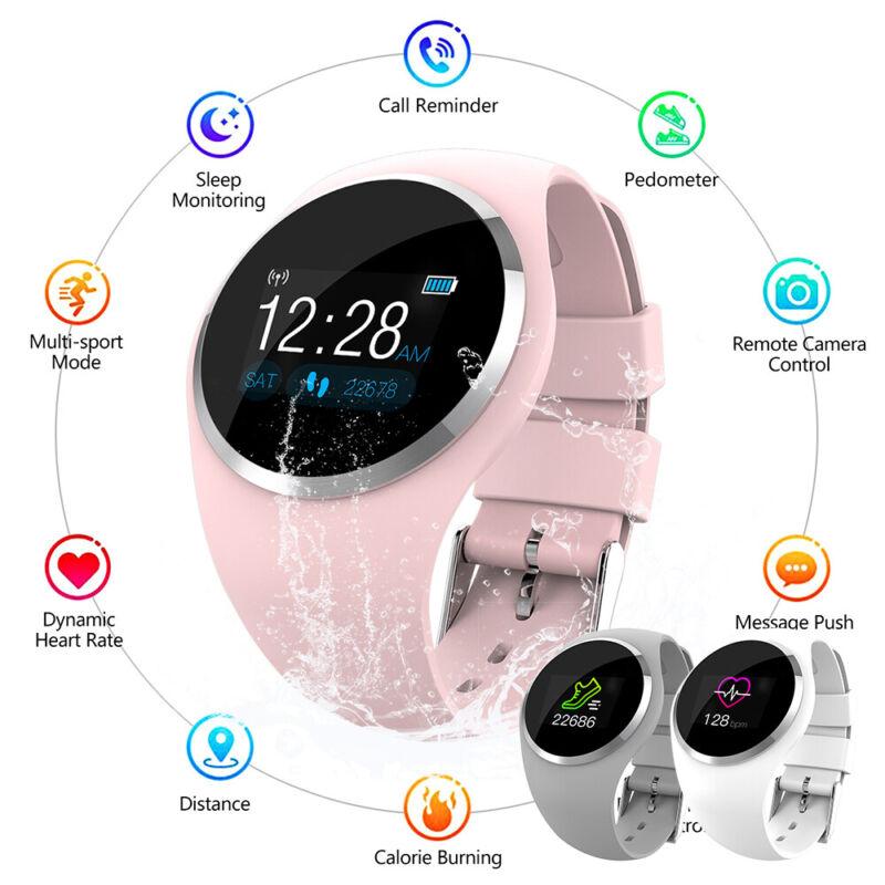 women girl bluetooth smart watch phone mate