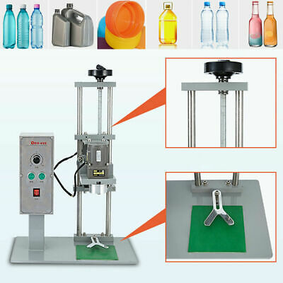 Ddx-450 Automatic Electric Round Bottle Capper Capping Machine 10-50mm Us Stock