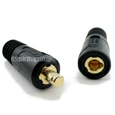 Welding Cable Connector Pair 10-30 Twist-lock Dinse 134460136600 For Miller