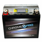 Chrome Battery Motorcycle Batteries