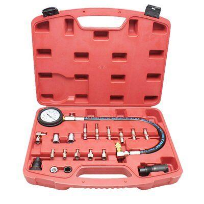 20tlg Kompressionstester Kompressionsprüfer Zylinder Diesel Meßgerät Tester PKW
