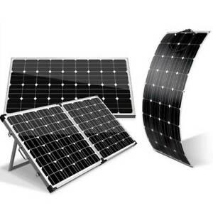 Flexible or Folding Solar Panels, Solar Blanket etc - PRICES FROM Sydney City Inner Sydney Preview