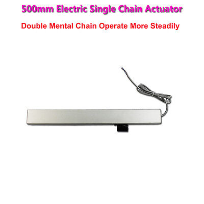 500 Mm Pull (500mm Electric Single Chain Actuator Push/Pull Force 400N Max.Current 1.2A )