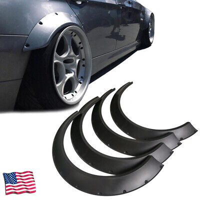Fender Flares 80mm + 60mm Extra Wide Body Universal ABS New School Wheel Arches