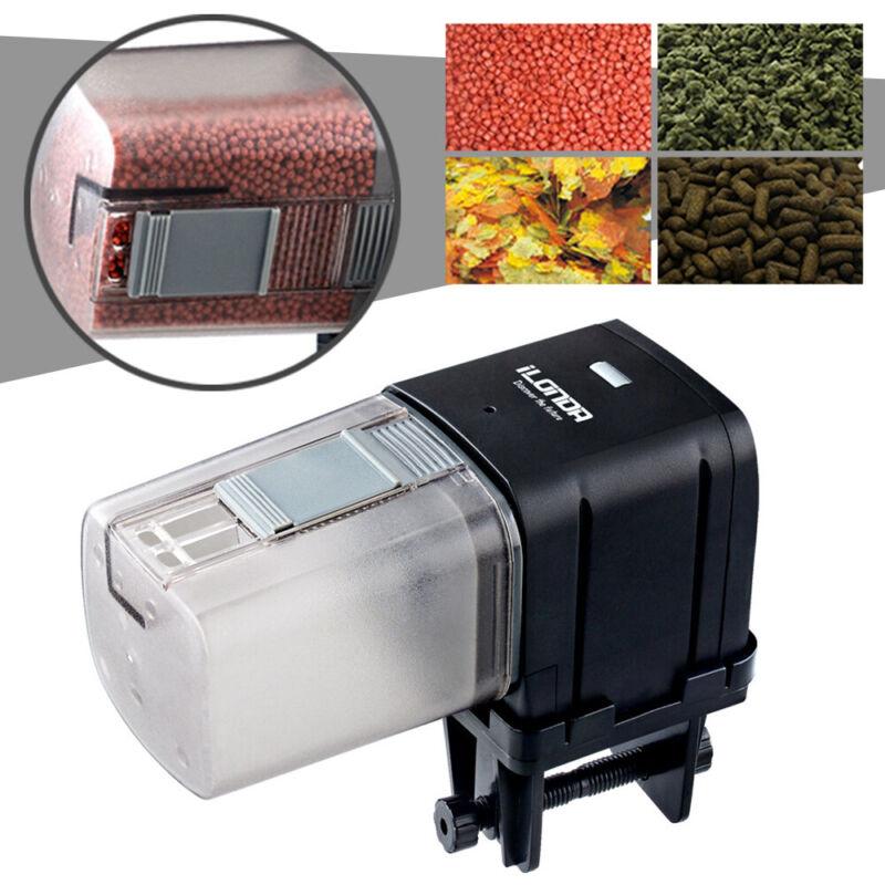 Automatic Pond Fish Food Feeder Tank Aquarium LCD Auto Timer