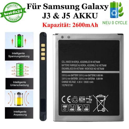 für Original Samsung Galaxy J3 2016 Akku J5 J500F EB-BG530BBE Batterie Battery