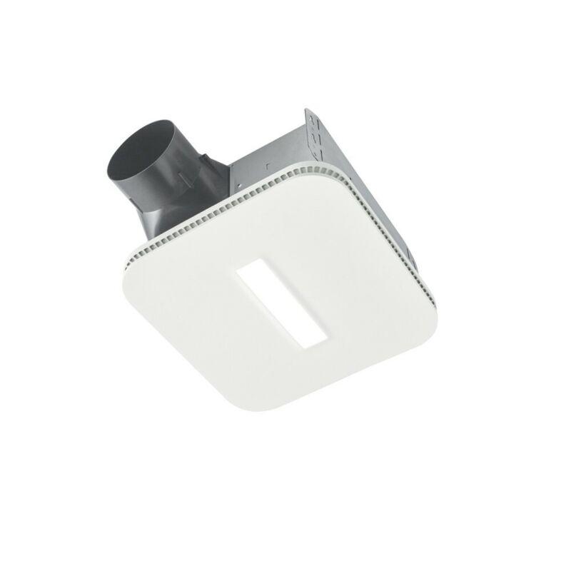 NuTone AERN110DCSL 110 CFM Humidity Sensing Ventilation DC Fan with LED Light