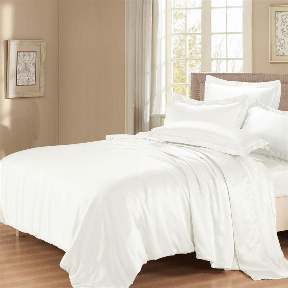 22 Momme Seide Bettwäsche-Set Bettbezug//Deckenbezug mit Seide Kissenbezug 40X80