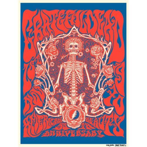 Grateful Dead - official Dead.net American Beauty 50th Anniversary Print