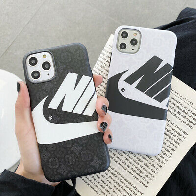 Cartoon Keith Haring&NIKE Phone Case Cover For iPhone11 Pro 7 8Plus XR Xs Max