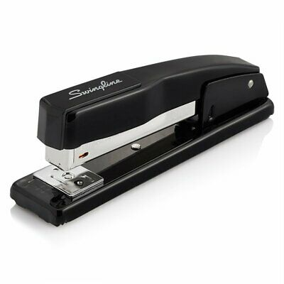 Stapler Desk Top Stapler Secure 20 Paper Sheets Black 44401 Metal Construction