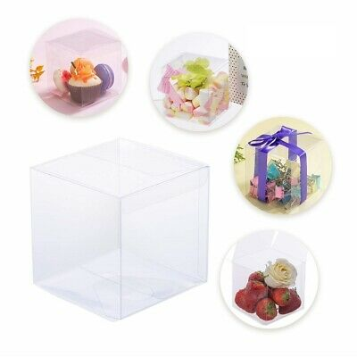 Clear Wedding Favor Boxes (200/100/50Pcs Clear Wedding Birthday Party Favor Gift Candy Boxes Anti)