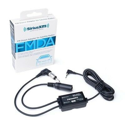 FMDA25 FM Direct Adapter for all Sirius XM Radios w/ FM Out (New)