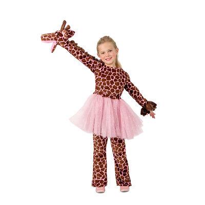 Girls Playful Puppet Giraffe Halloween Costume