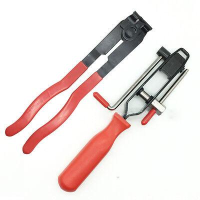 2pcs CV Joint Boot Clamp Pliers Set Car Banding Tools Set Kit Professional Tool