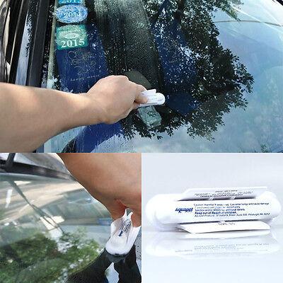 1pc AQUAPEL Windshield Glass Water Rain Repellent Treatments Application Repels