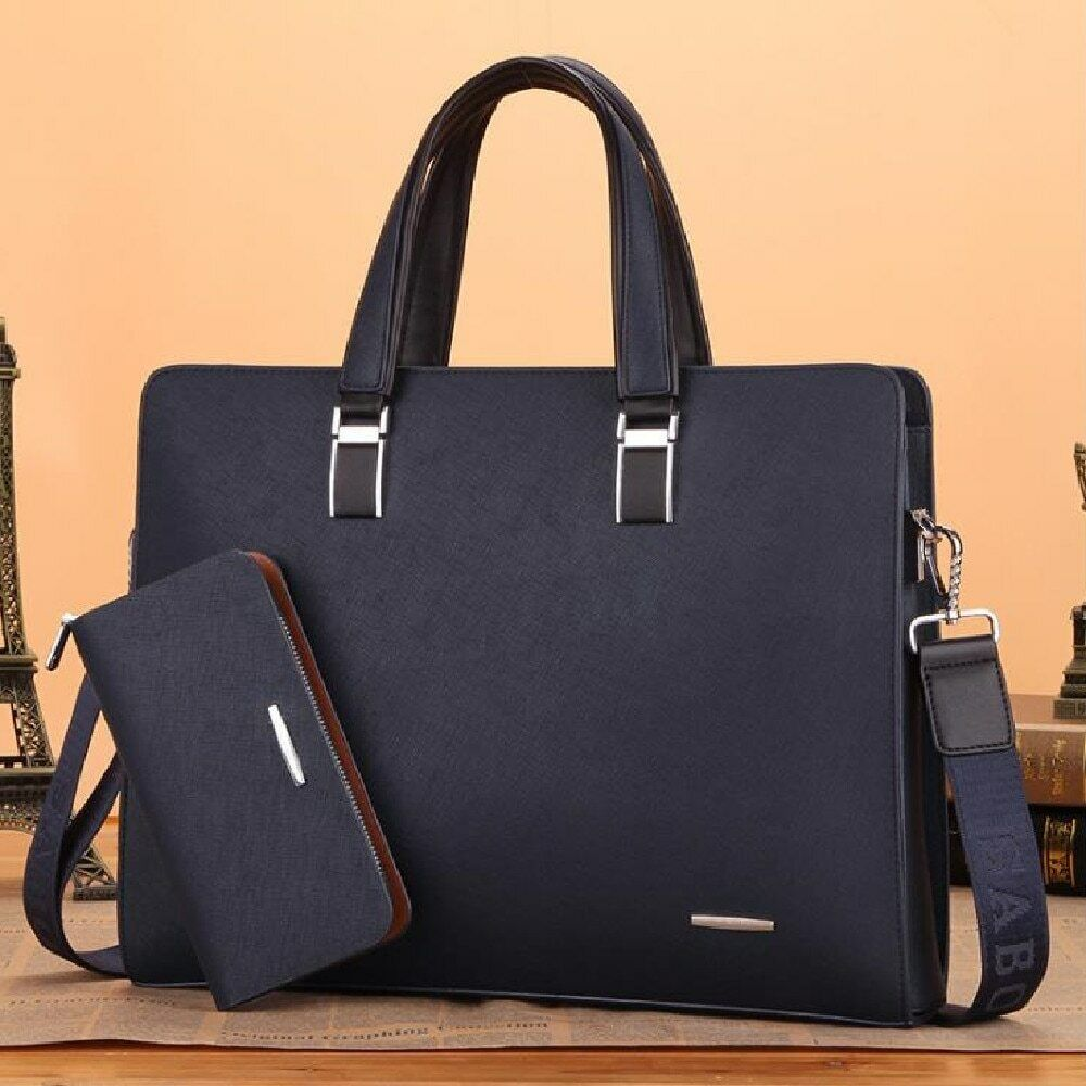 Men Portable Briefcase Business Computer Backpack Large Capacity Cross-body Bag Bags