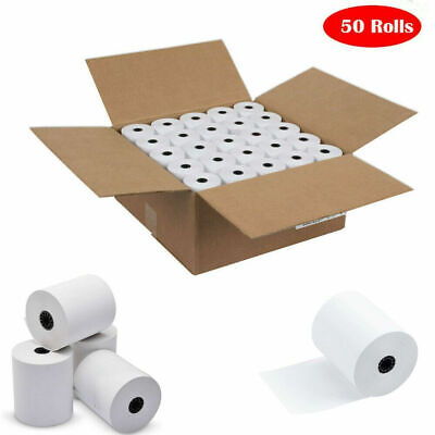 3-18 X 230 Thermal Pos Receipt Printer Roll Paper Bpa Free - 50 Rolls