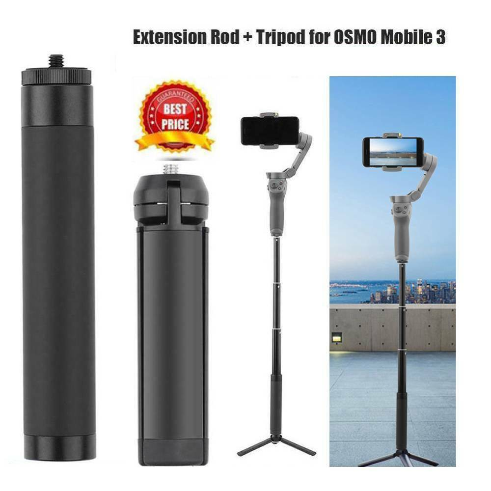 Telescopic Extension Rod Tripod Stand for DJI OSMO Mobile 3 2 Feiyu Accessories