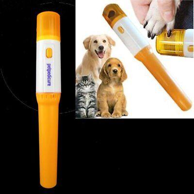 New Pet Pedicure Professional Dog Cat Nail Grinder Trim Clipper Nail