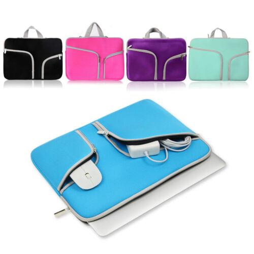 как выглядит Сумка или чехол для ноутбука Laptop Sleeve Case Carry Bag for Macbook Pro/Air Dell Sony HP 11 12 13 14 15Inch фото