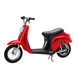 Razor Pocket Mod Miniature Euro 24 Volt 250 Watt Electric Retro Scooter, Red